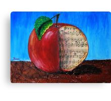slice of music Canvas Print