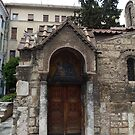 Byzantine Church Door  by HELUA