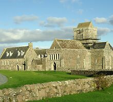 The Abbey Island of Iona Argyll Scotland by John Butterfield