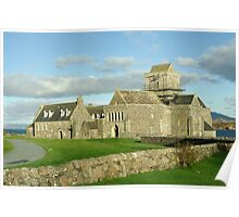 The Abbey Island of Iona Argyll Scotland Poster