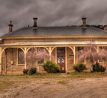 Bowenfels Station  c1869 - Lithgow NSW - The HDR Experience by Philip Johnson