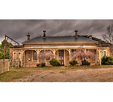 Bowenfels Station  c1869 - Lithgow NSW - The HDR Experience Photographic Print