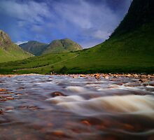 River Etive by KWTImages