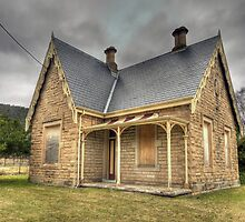 Bowenfels Station Masters Cottage c1869 - Lithgow NSW by Philip Johnson