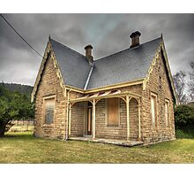 Bowenfels Station Masters Cottage c1869 - Lithgow NSW Photographic Print