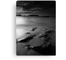 Rocks and Sand Canvas Print