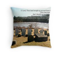 remembrance of His holiness Throw Pillow