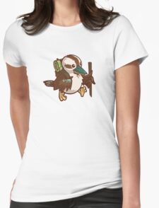 A Walk Womens Fitted T-Shirt