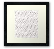 Baseball Pattern 1 Framed Print
