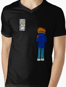 Scott Pilgrim - Subspace Mens V-Neck T-Shirt