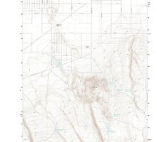 USGS Topo Map Oregon Christmas Valley 20110829 TM by wetdryvac