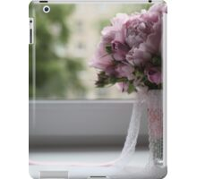 bridal bouquet on the window iPad Case/Skin