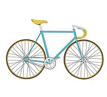 vintage bicycle Photographic Print
