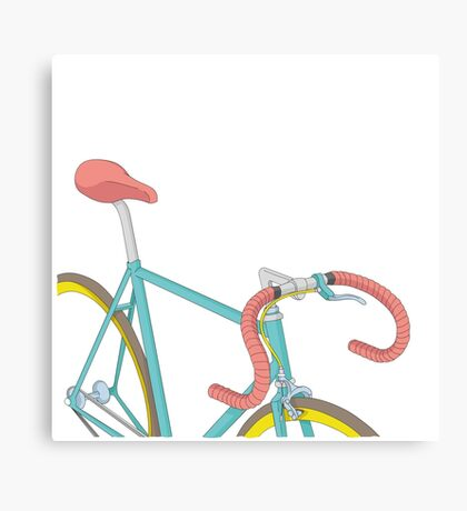 vintage bicycle Canvas Print