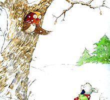 One Snowy Day by susanPerez