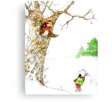 One Snowy Day Canvas Print