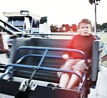 The Red Jumper - Lindfield Fun Fair by Matthew Floyd