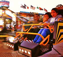 Spinning - Lindfield Fun Fair by Matthew Floyd