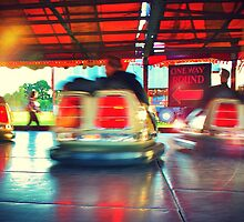 Dodgems at the Lindfield Fun-fair #7 by Matthew Floyd