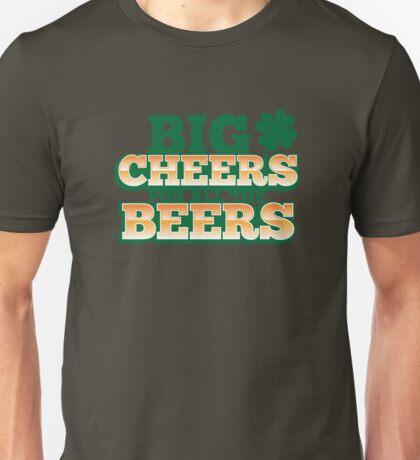 BIG CHEERS FOR ALL THE BEERS! IRISH beer shop design Unisex T-Shirt