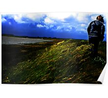 Out on a windy day Poster