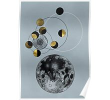 Phases of the Blue Moon Poster