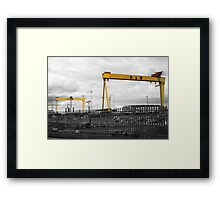 Harland and Wolff Framed Print