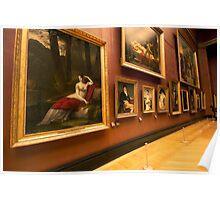 Inside Louvre Museum Paris - 1 Poster