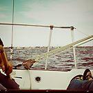 sailing... by eelsblueEllen