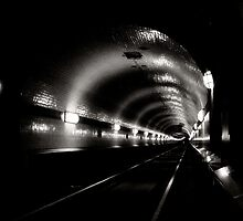 is there light at the end of the tunnel? by Heike Nagel
