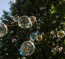 Bubble Tree Star by Rick McFadden