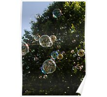 Bubble Tree Star Poster