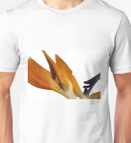 Bird of Paradise Macro Unisex T-Shirt