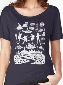 Fab Four Mixtape Women's Relaxed Fit T-Shirt