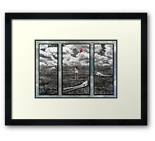 Wasteland Part 3 Framed Print
