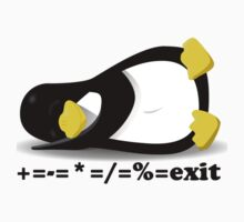 LINUX TUX THE PENGUIN Kids Tee