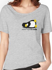 LINUX TUX THE PENGUIN Women's Relaxed Fit T-Shirt