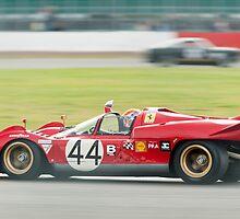 1969 Ferrari 512S by Chris Tarling
