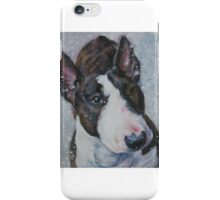 Bull Terrier Fine Art Painting iPhone Case/Skin