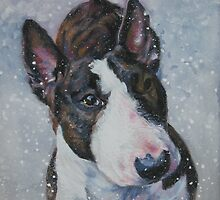 Bull Terrier Fine Art Painting by lashepard