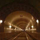 Through the tunnel by Britta Döll