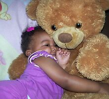 I LUV MY TEDDY by Mimmie Hunter