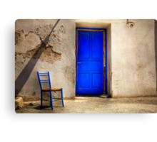 Blue Door Canvas Print
