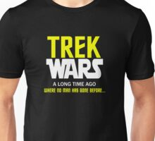 TREK WARS Unisex T-Shirt