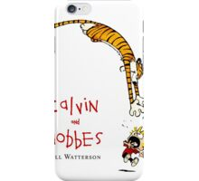 Calvin and Hobbes Comic Strip iPhone Case iPhone Case/Skin