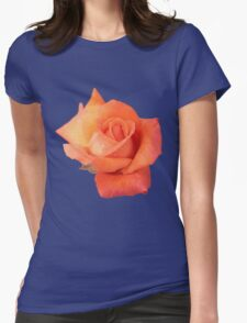 Peachy Rose Womens Fitted T-Shirt