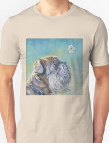 Brussels Griffon Fine Art Painting T-Shirt
