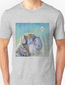 Brussels Griffon Fine Art Painting T-Shirt