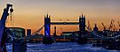 The Opening of Tower Bridge at Sunset on 30th September 2015 by MarcW