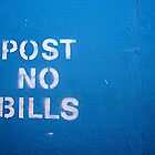 post no bills by trounoir
